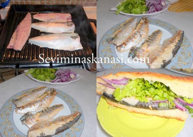 Izgarada Uskumru Tarifi Balık Ekmek Nasıl Yapılır ?