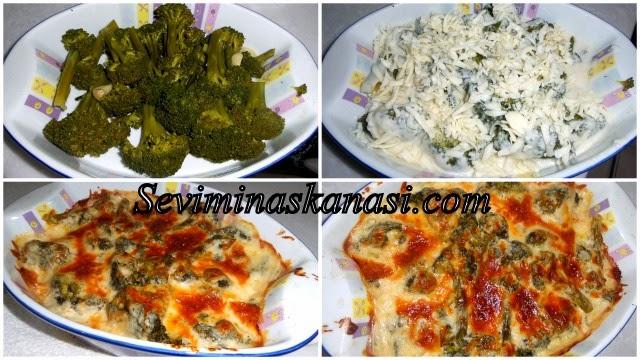 firinda besamel-soslu-brokoli