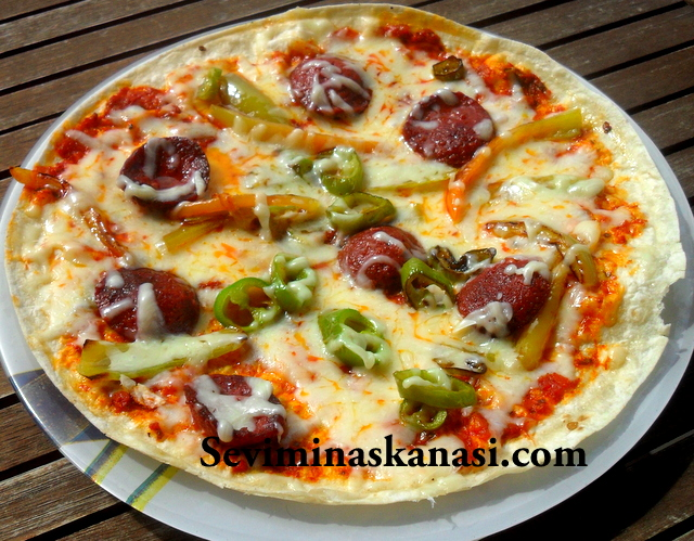 tortilla dan pizza